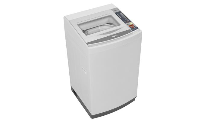 Máy giặt Aqua AQW-S70AT (H) có bộ lọc xơ vải tăng tuổi thọ cho máy