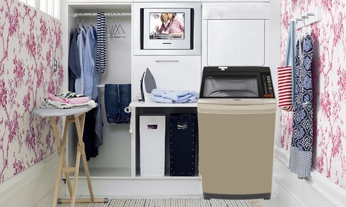 Máy giặt Aqua AQW-W90AT (N) khối lượng giặt 9kg
