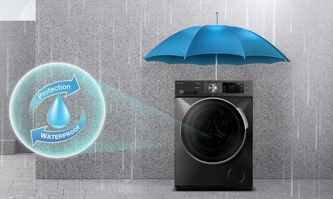 Máy giặt Casper Inverter 8.5 kg WF-85I140BGB - Chống nước IPX4