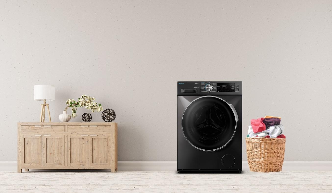 Máy giặt Casper Inverter 8.5 kg WF-85I140BGB - Máy giặt cửa trước