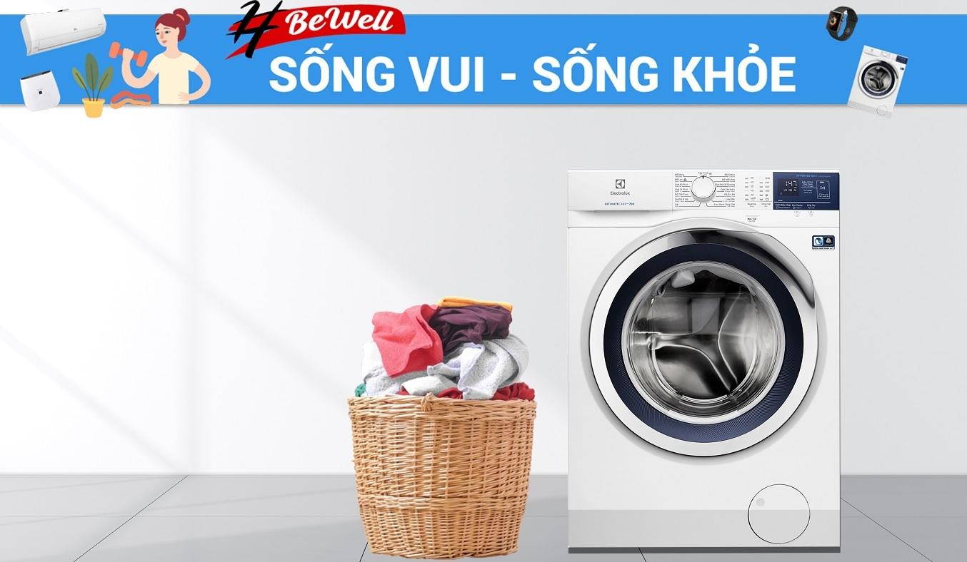 Máy giặt Electrolux Inverter 10 kg EWF1024BDWA - Khối lượng giặt 10 kg