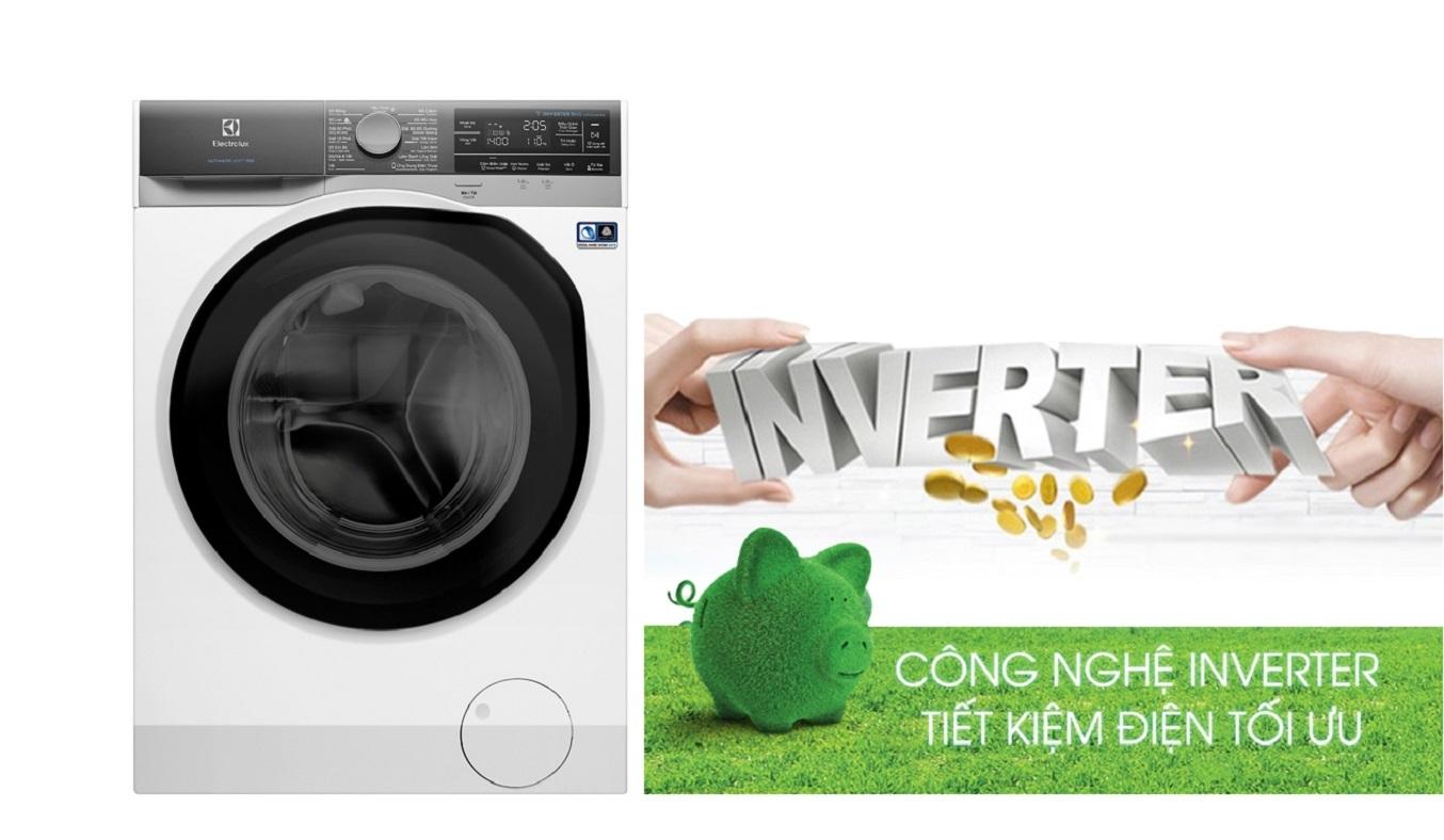 Máy giặt Electrolux Inverter 11 kg EWF1141AEWA - Công nghệ Inverter