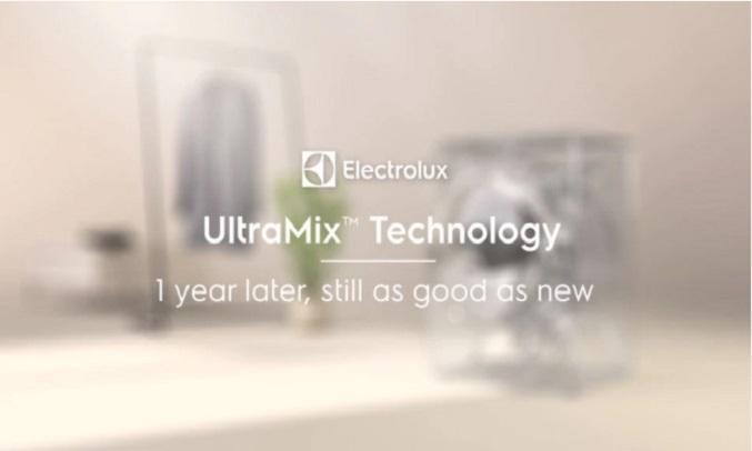 Máy giặt Electrolux Inverter 11 kg EWF1141AEWA - Công nghệ UltraMix
