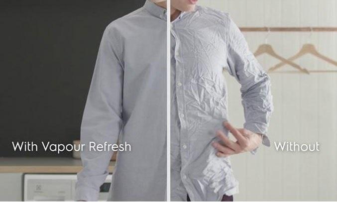 Máy giặt Electrolux Inverter 11 kg EWF1142BESA - Chương trình giặt Vapour Refresh