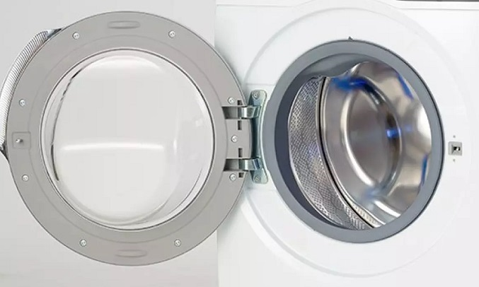 Máy giặt Electrolux Inverter 8 kg EWF8025CQSA - Thiết kế cửa 3XL