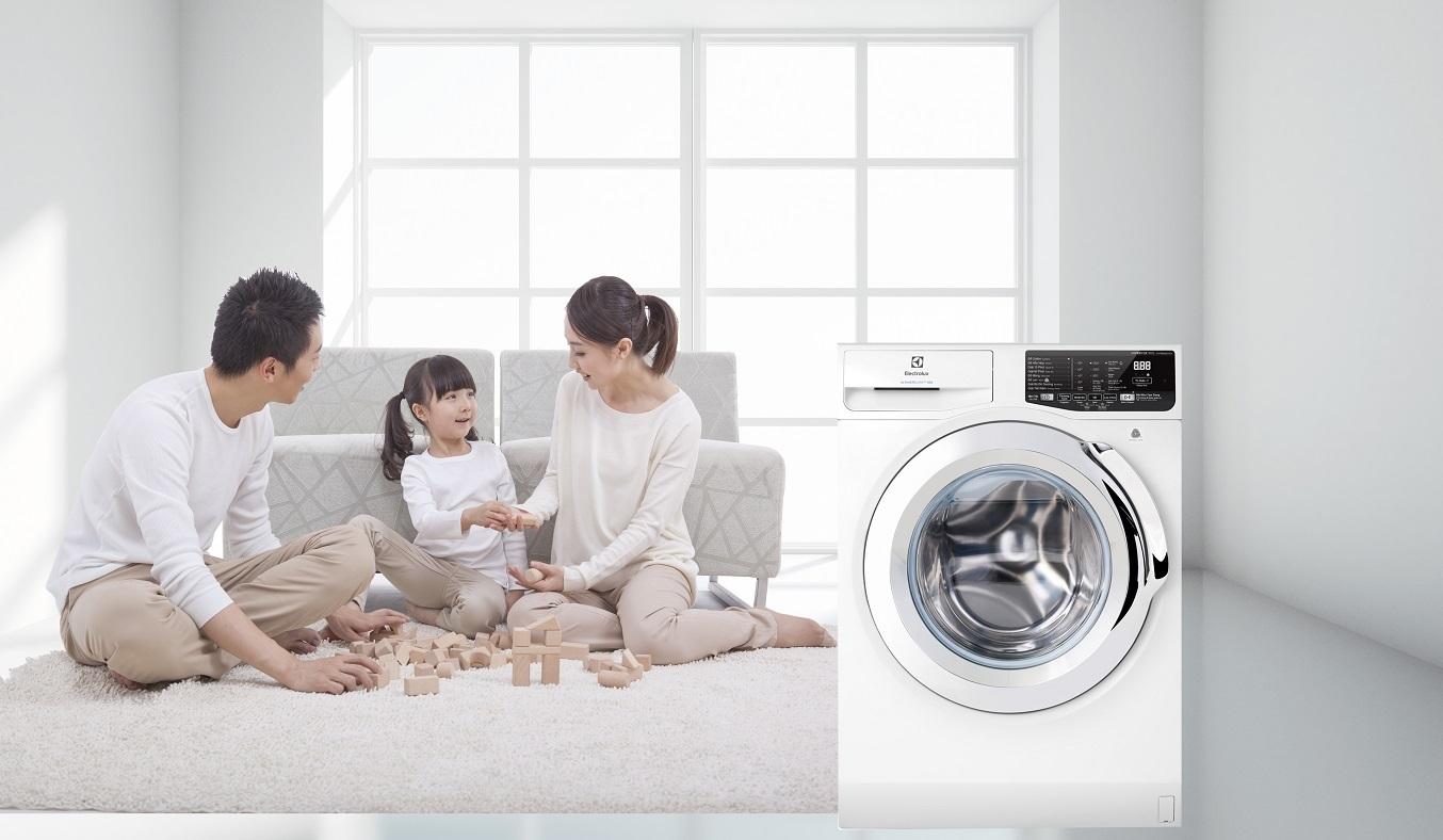 Máy giặt Electrolux Inverter 9 kg EWF9025BQWA - Công nghệ VapourCare