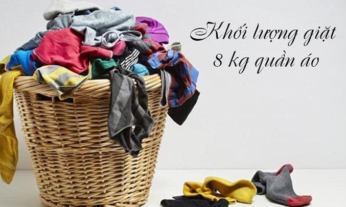 Máy giặt Electrolux EWF12853 phù hợp với gia đình 4 - 5 người
