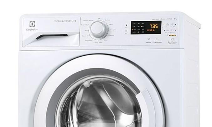 Bảng điều khiển cảm ứng máy giặt Electrolux EWF12853 dễ sử dụng