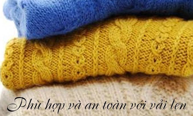 Với máy giặt Electrolux EWF12853, bạn yên tâm giặt với áo len