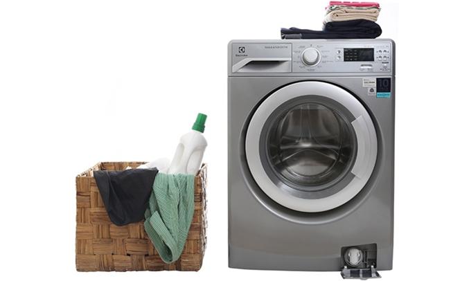 Máy giặt Electrolux EWF12853S thiết kế sang trá»ng, hiá»n Äại