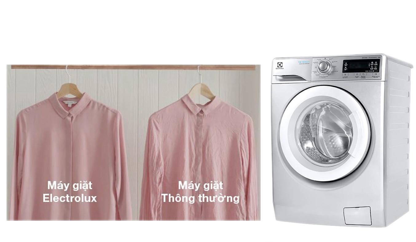 Máy giặt Electrolux 9kg EWF12938S giảm độ nhăn của quần áo