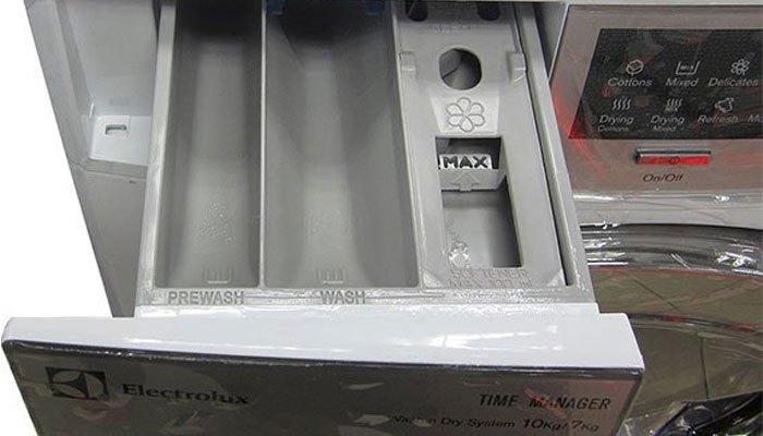 Bạn có thể tìm thấy tính năng này trên sản phẩmmáy giặt Electrolux EWW14012