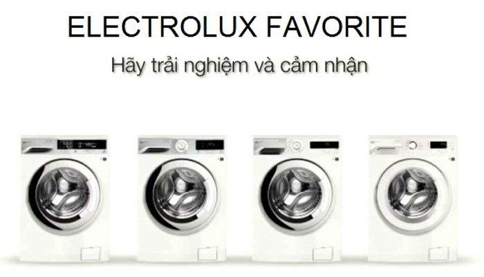 Mọi thao tác của bạn sẽ được ghi nhớ cho lần giặt sau nhờ nút Favorite của máy giặt Electrolux