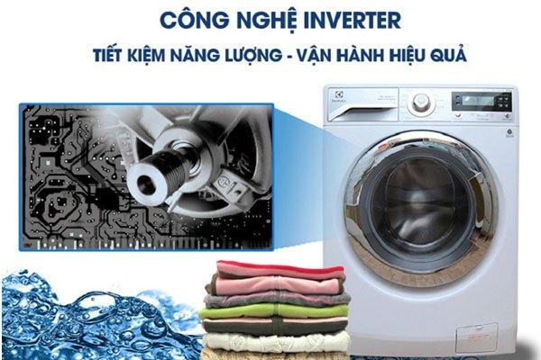 Chi phí điện năng hàng tháng sẽ không còn tăng vọt với máy giặt cửa ngang Electrolux sở hữu công nghệ Inverter