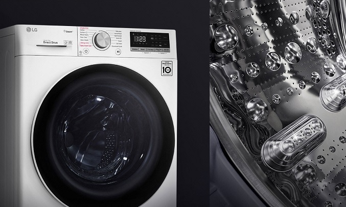Máy giặt LG Inverter 9 Kg FV1409S2W- Bền bỉ theo thời gian