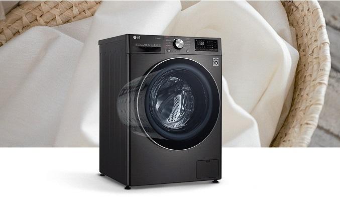 Máy giặt LG Inverter 10.5 kg FV1450S2B - Tăng kích thước lồng giặt