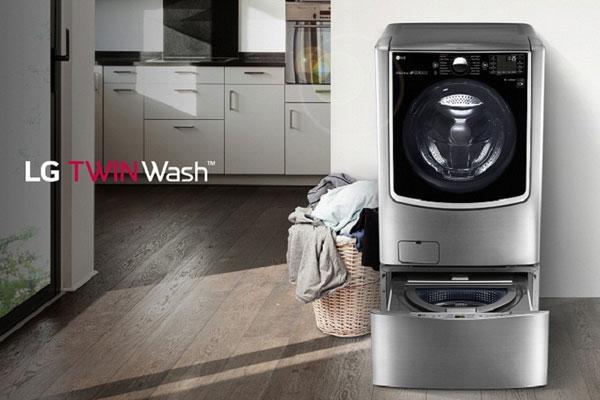 Tiết kiệm tối ưu thời gian, công sức và điện năng nhờ vào máy giặt lồng đôi LG TWIN Wash