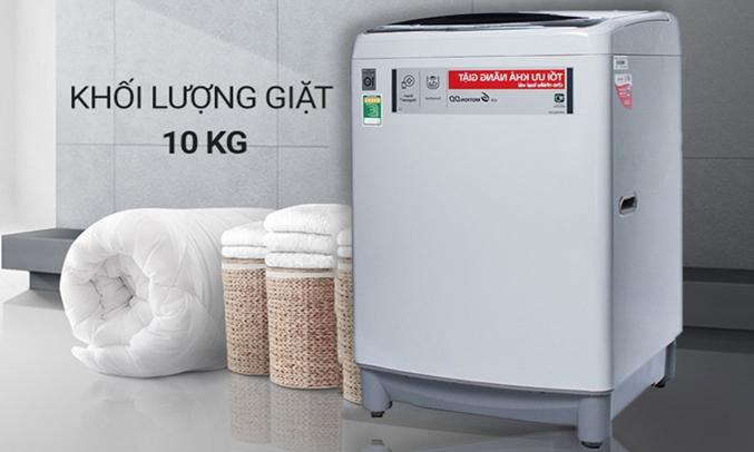 Máy giặt LG 10 KG T2310DSAM khối lượng giặt 10 kg