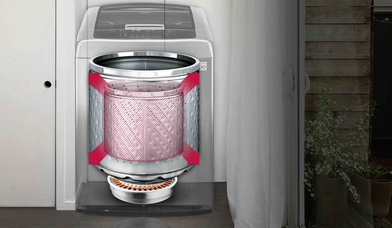 Máy giặt LG 12 KG T2312DSAV khối lượng giặt 12 kg