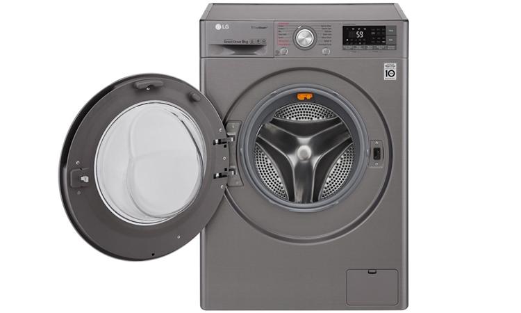 Máy giặt LG FC1409D4E dễ dàng chinh phục khách hàng với vẻ ngoài bắt mắt