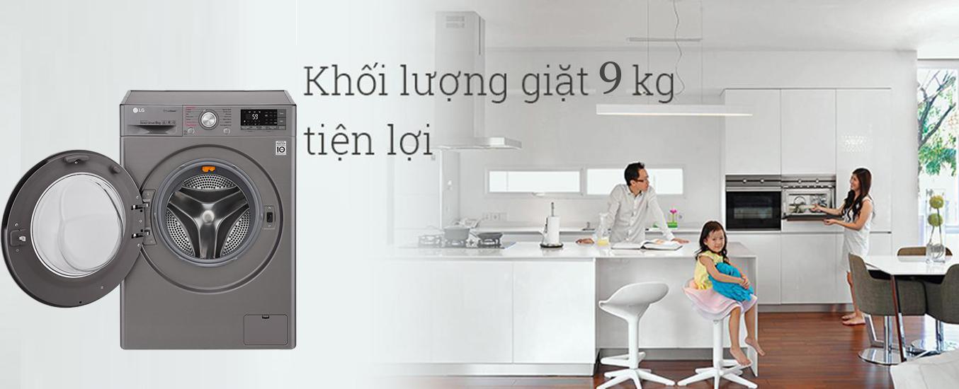 Máy giặt LG FC1409S2E sang trọng, hiện đại
