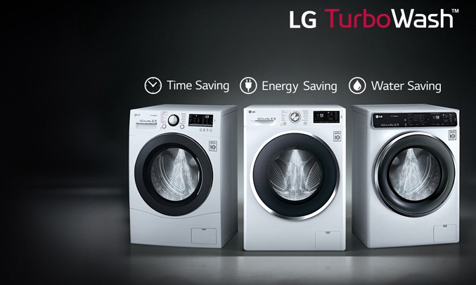 Máy giặt LG FC1409S2E trang bị công nghệ TurboWash tiết kiệm điện, nước và thời gian giặt