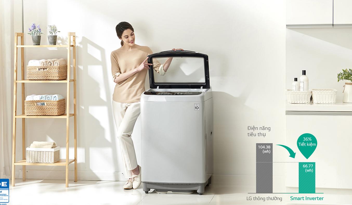 Máy giặt LG T2350VSAW - Máy giặt LG - Máy Giặt - Điện Lạnh giá tốt tại siêu thị điện máy Nguyễn Kim