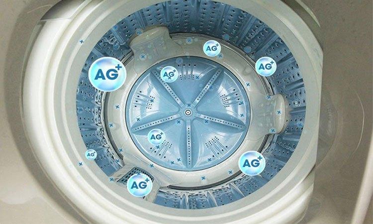 Máy giặt Aqua 11.5 Kg AQW-UW115AT (S) lồng giặt kháng khuẩn khử mùi tốt