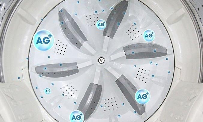 Máy giặt Aqua AQW-F800AT loại bỏ mọi vi khuẩn gây hại cho da