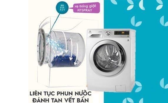 Máy giặt loại nào tốt? Máy giặt Electrolux  EWF12932 kg