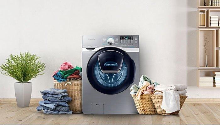 máy giặt thời hiện đại