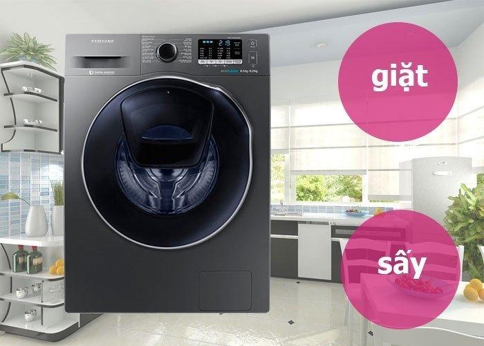 Máy giặt tiết kiệm điện năng. Máy giặt Samsung 8.5 kg WD85K5410OX