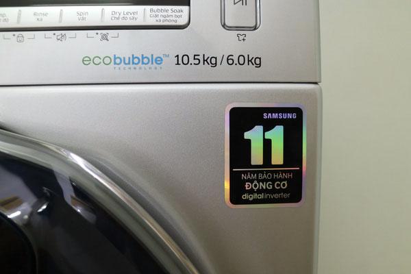 Khối lượng giặt và khối lượng sấy trên một chiếc máy giặt sấy là không tương đồng với nhau