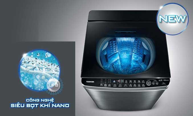 Máy giặt Toshiba AW-DG1600WV (SK) có ưu điểm nổi bật là khả năng giặt sạch tối đa