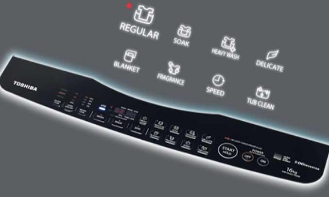 Máy giặt Toshiba AW-DG1600WV (SK) cứng cao cấp bền và cứng cáp.