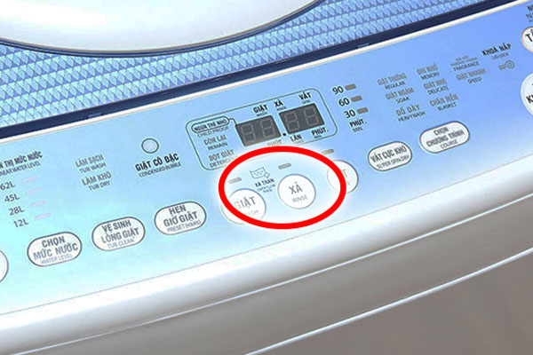 Chế độ xả tràn được trang bị trên hầu hết máy giặt ngày nay