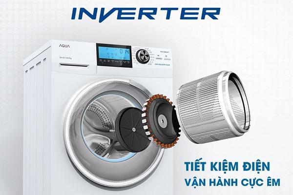 Máy giặt Inverter giúp tiết kiệm điện năng hiệu quả