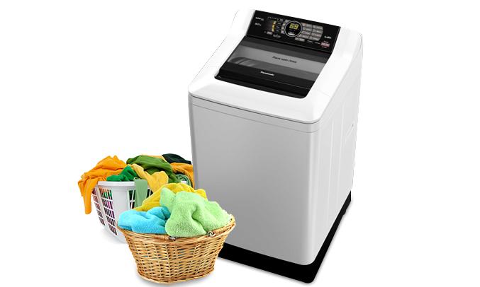 Máy giặt Panasonic NA-F90A4GRV hoaÌn haÌo