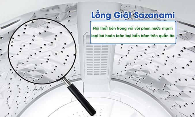 Máy giặt Panasonic NA-F90A4GRV châÌt lÆ°Æ¡Ì£ng