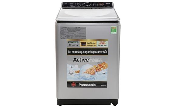 Máy giặt Panasonic 11.5kg NA-F115V5LRV sở hữu vẻ ngoài sang trọng