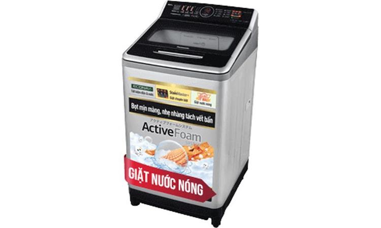 Máy giặt Panasonic 11.5kg NA-F115V5LRV mang sắc trắng trẻ trung