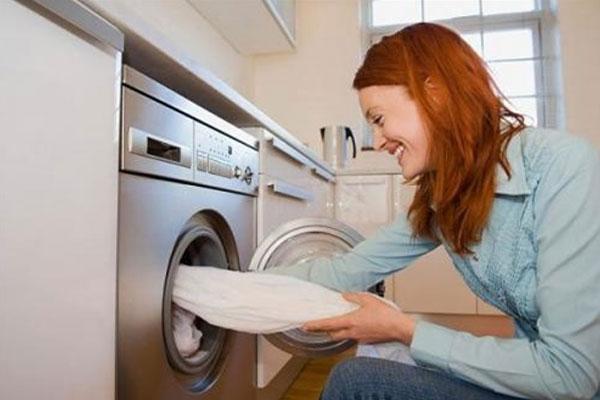 Loại rèm cửa có lớp vải voan mỏng có thể được giặt với máy giặt