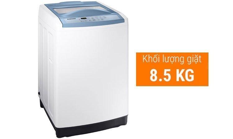 Máy giặt Samsung 8.5Kg WA85M5120SW khối lượng giặt 8.5 kg