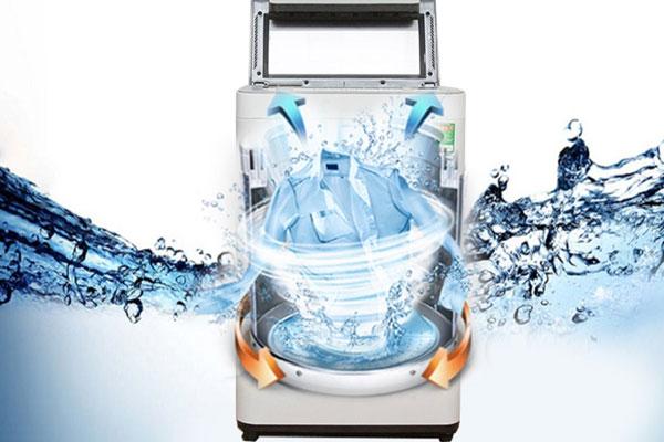 Máy giặt Panasonic với tốc độ quay vắt kinh ngạc giúp thời gian giặt ngắn hơn mà hiệu quả cao