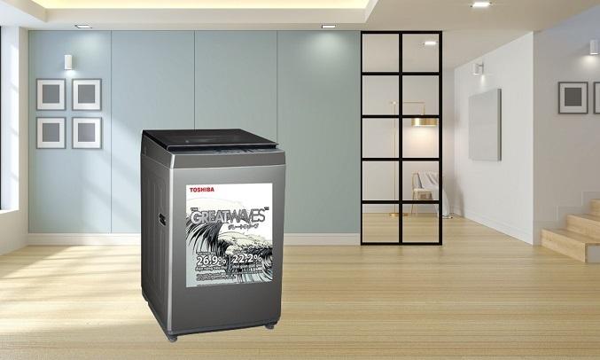 Máy giặt Toshiba 9 kg AW-K1005FV (SG) - Hẹn giờ bắt đầu giặt