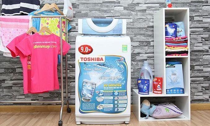 Máy giặt Toshiba 9 kg AW-DC1000CV dung tích 9kg