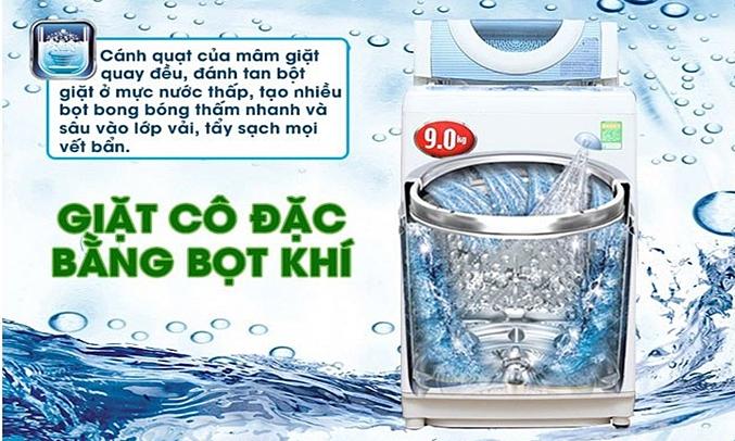 Máy giặt Toshiba AW-DC1005CV (WB) giặt sạch sâu