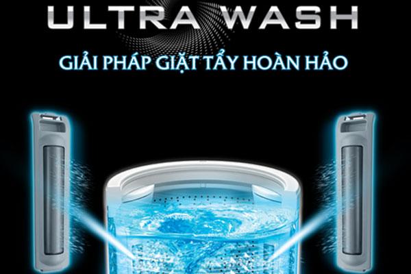 Vết bẩn cứng đầu được xử lý nhanh chóng với Power Wash
