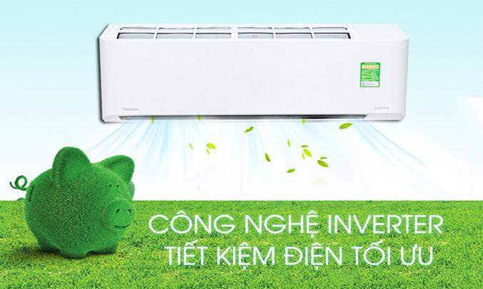 Máy lạnh Toshiba RAS-H10BKCVS-V tiết kiêmj tối ưu