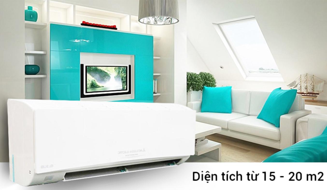 Máy lạnh Mitsubishi Electric MSY-GH13VA 1.5 HP hiện đại